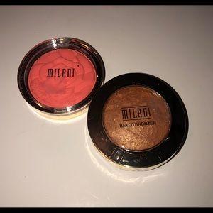 Milani Bronzer and Blush